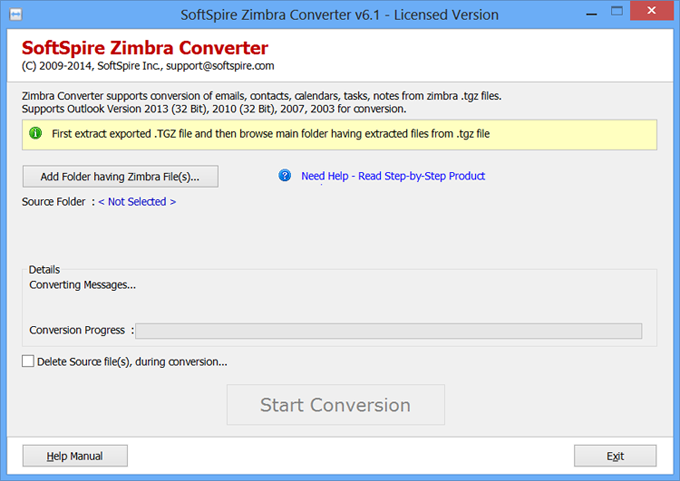 Conversion from Zimbra Address Book to Outlook