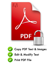 Unlock PDF Security from Protected PDF Files