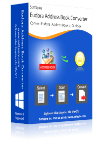 convert Eudora contacts to PST with Eudora Address Book Converter