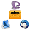 software supports MBOX email data conversion from all MBOX supported applications