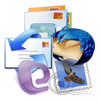 Move EML files of various email apps - WLM, eM Client, DreamMail, Zarafa Mail Server, Thunderbird into PST