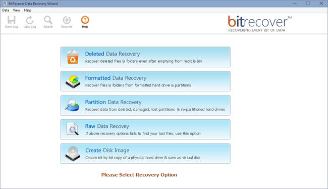 Data Recovery Wizard full screenshot