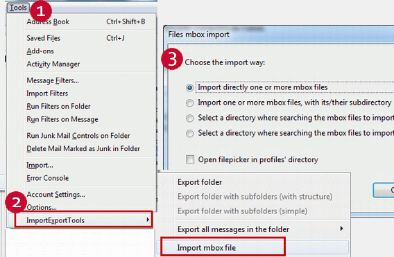 How To Import Emails From Outlook To Mozilla Thunderbird