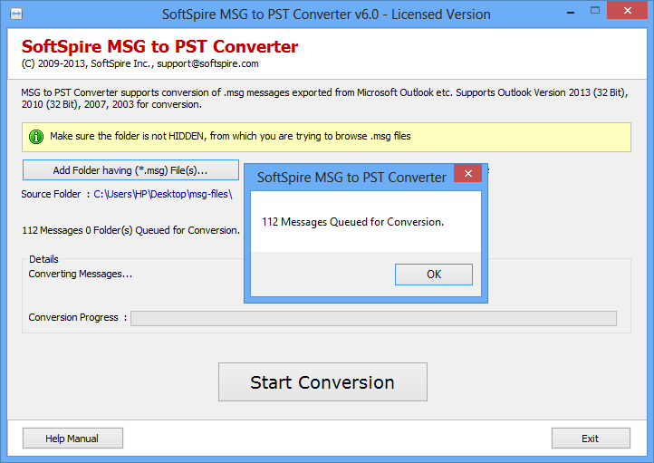 how to open msg files on windows