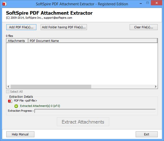 PDF Attachment Extractor