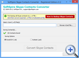 Select Skype Contacts