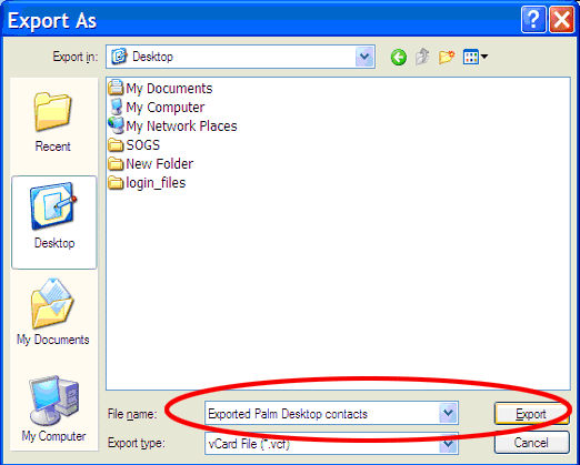Import Contacts from Palm Desktop to Outlook, Excel/CSV