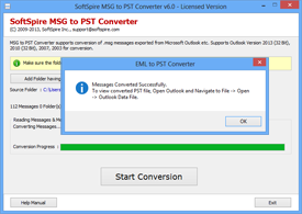 MSG to PST Conversion